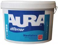 Краска акриловая водоэмульсионная Aura Neolatex глубокий мат белый 10л 14.4кг