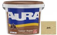Деревозащитное средство Aura® Aqua дуб шелковистый мат 0,07 л