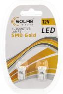 Лампа світлодіодна Solar LS245 T10 W2.1x9.5d 12 В 2 шт