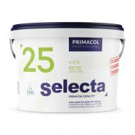 Фарба інтер'єрна латексна PRIMACOL DECORATIVE Selecta 25 глянець білий 1л