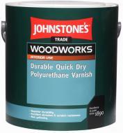 Лак меблевий Durable Quick Dry Polyuretane Varnish Johnstone's напівмат 0,75 л