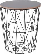 Стол-корзина Сканди 30х30х34 см черный DY28486-I3
