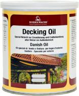 Масло Borma Wachs для террас DECKING OIL(danish oil) 4971 1 л