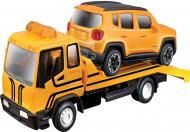Іграшка Bburago Евакуатор з автомоделлю Jeep Renegade 1:43 18-31417