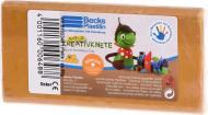 Набір пластиліну Becks Plastilin восковий 86 г вохра B102349