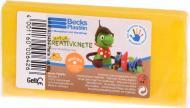 Набір пластиліну Becks Plastilin восковий 86 г жовтий B102343