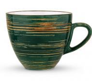Чашка для кофе Spiral Green 110 мл WL-669534/A Wilmax