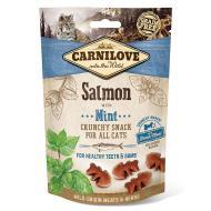 Ласощі Carnilove для котів Crunchy Snack, лосось та м'ята, 50 г