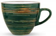 Чашка чайная Spiral Green 300 мл WL-669536/A Wilmax