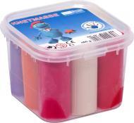 Набір пластиліну Becks Plastilin 450 г 9 кольорів у відерці B100353