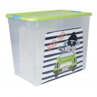 Контейнер для зберігання пластиковий Алеана «Smart Box» My Car 40 л 390x490x320 мм