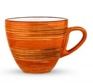 Чашка для кофе Spiral Orange 110 мл WL-669334/A Wilmax