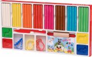 Набір для ліплення Becks Plastilin 8 кольорів з аксесуарами B100339