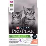 Корм Pro Plan сухий для стерилізованих кошенят Kitten Sterilised, лосось, 1.5кг