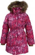 Пальто для девочки HUPPA Grace р.122 фуксия 17930055-73263-122