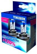 Лампа галогенна Tungsram (50440SNU) H4 P43t 12 В 12 Вт 2 шт