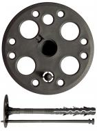 Дюбель для теплоизоляции полипропиленовый с пластиковым гвоздем 10x180 мм 10 шт. Expert Fix