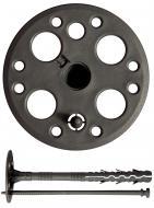 Дюбель для теплоизоляции полипропиленовый с пластиковым гвоздем 10x200 мм 10 шт. Expert Fix