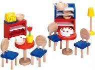 Ляльковий набір GoKi Меблі для бістро 19 предметів 51690G