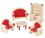 Ляльковий набір GoKi Меблі для вітальні 5 предметів 51952G