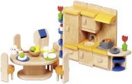 Ляльковий набір GoKi Меблі для кухні 37 предметів 51747G