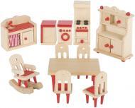 Ляльковий набір GoKi Меблі для кухні 11 предметів 51951G