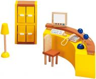 Ляльковий набір GoKi Меблі для офісу Ресепшн 9 предметів 51696G