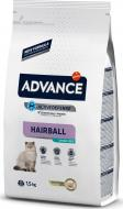 Корм Advance Sterilized Hairball з індичкою 1,5 кг