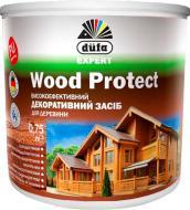 Лазур Dufa Wood Protect шовковистий глянець білий 0,75 л