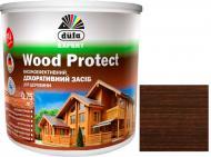 Декоративное средство Dufa EXPERT Wood Protect палисандр шелковистый глянец 0,75 л