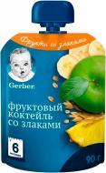 Пюре Gerber Фруктовый Коктейль 90 г