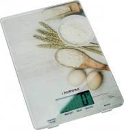 Весы кухонные AURORA AU-4301 5 кг с рисунком из стекла (hub_BrsR83310)
