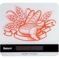 Весы кухонные SATURN ST-KS7807 с рисунком из стелка (hub_XZPZ85432)