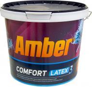 Краска латексная Amber Сomfort Latex 3 мат белый 5л