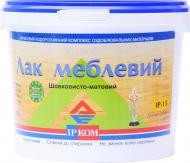 Лак меблевий IР-13 ІРКОМ шовковистий мат 3 л