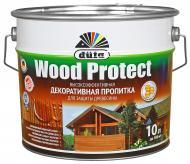 Декоративное средство Dufa Wood Protect шелковистый глянец сосна 10 л