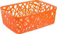 Кошик для зберігання пластиковий Curver Neo Colors помаранчовий 127x290x377 мм
