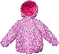Вітрівка для дівчинки Модний Карапуз р.80 рожевий із малюнком 03-00777-0
