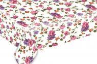 Скатерть Весенний сад 140x180 см белый UP! (Underprice)