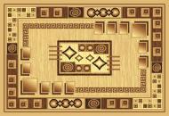 Килим Карат Gold 364/12 1,4x2 м