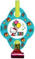 Язичок-гудок Eventa Hello Kitty кольоровий 6 шт.