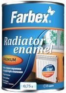 Эмаль Farbex для радиаторов отопления белый глянец 0,75л