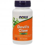 Коготь дьявола / Гарпагофитум Now Foods Devil's Claw 100 капсул (NF4650)