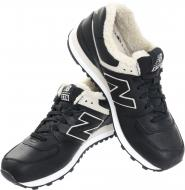 Ботинки New Balance 574 ML574BL р. 10,5 черный
