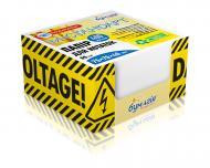 Папір для нотаток у кубі з картону PQ-6487 Danger 400 аркушів Бумагія