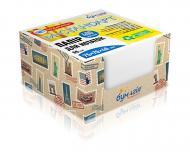 Папір для нотаток білий в кубі PQ-6517 Поштові марки 400 аркушів Бумагія