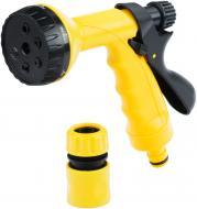 Набір для поливу Expert Garden Пістолет на 6 режимів та конектор DY2423