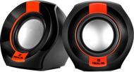 Акустична система Real-el S-50 2.0 black/red