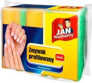 Губка для миття посуду Jan Niezbedny 3 шт.