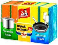 Губка Jan Niezbedny для посуду універсальна Duo 5 шт.
